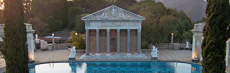 Hearst Castle: great gatsby house tour